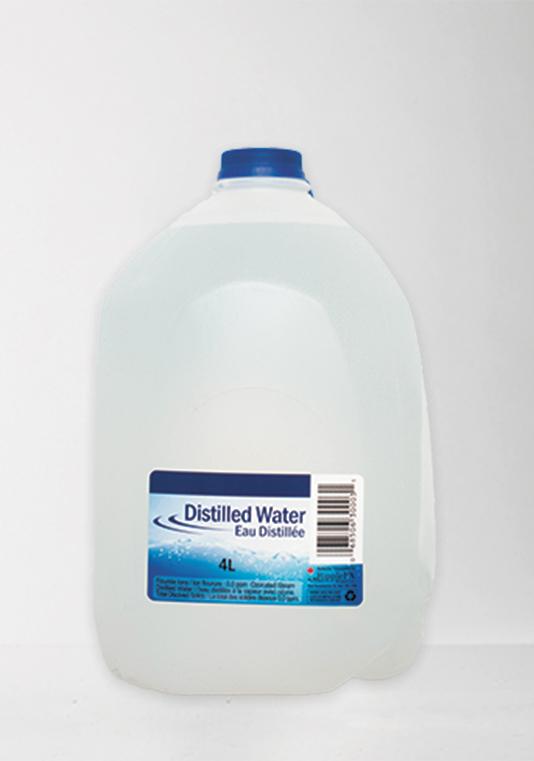 Double deionized water